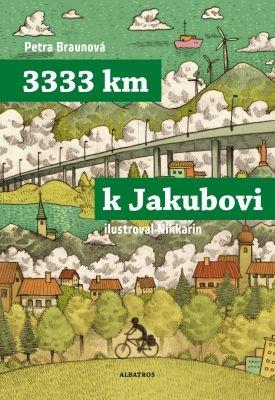 """Petra Braunová, Nikkarin: 3333 km k Jakubovi. Pokud si chcete e-knihu vypůjčit, klikněte na název města, ve kterém se nachází vaše knihovna, v sekci """"Vyhledat e-knihu v knihovně""""."""