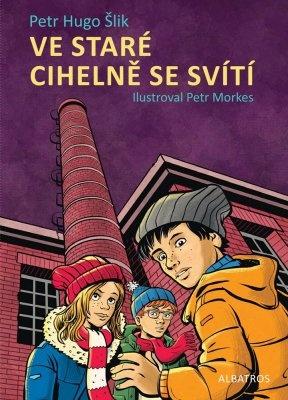 """Petr Hugo Šlik: Ve staré cihelně se svítí. Pokud si chcete e-knihu vypůjčit, klikněte na název města, ve kterém se nachází vaše knihovna, v sekci """"Vyhledat e-knihu v knihovně""""."""