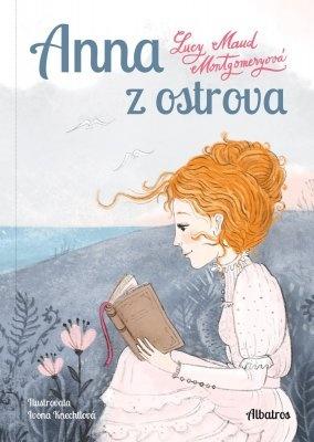 """Lucy Maud Montgomeryová: Anna z ostrova. Pokud si chcete e-knihu vypůjčit, klikněte na název města, ve kterém se nachází vaše knihovna, v sekci """"Vyhledat e-knihu v knihovně""""."""