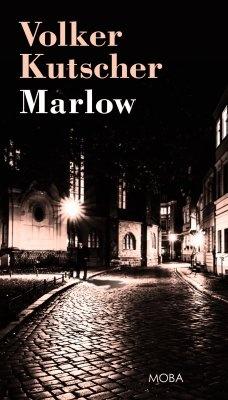 """Volker Kutscher: Marlow. Pokud si chcete e-knihu vypůjčit, klikněte na název města, ve kterém se nachází vaše knihovna, v sekci """"Vyhledat e-knihu v knihovně""""."""