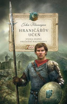 """John Flanagan: Hraničářův učeň 7 - Obléhání Macindawu. Pokud si chcete e-knihu vypůjčit, klikněte na název města, ve kterém se nachází vaše knihovna, v sekci """"Vyhledat e-knihu v knihovně""""."""
