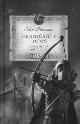 """John Flanagan: Hraničářův učeň 2 - Hořící most. Pokud si chcete e-knihu vypůjčit, klikněte na název města, ve kterém se nachází vaše knihovna, v sekci """"Vyhledat e-knihu v knihovně""""."""