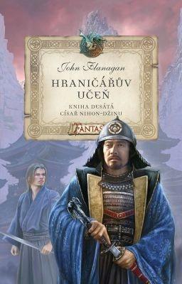 """John Flanagan: Hraničářův učeň 10 - Císař Nihon-Džinu. Pokud si chcete e-knihu vypůjčit, klikněte na název města, ve kterém se nachází vaše knihovna, v sekci """"Vyhledat e-knihu v knihovně""""."""