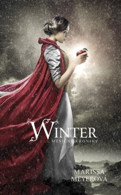 """Marissa Meyerová: Winter - Měsíční kroniky. Pokud si chcete e-knihu vypůjčit, klikněte na název města, ve kterém se nachází vaše knihovna, v sekci """"Vyhledat e-knihu v knihovně""""."""