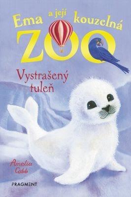 """Sophy Williams, Amelia Cobb: Ema a její kouzelná zoo - Vystrašený tuleň. Pokud si chcete e-knihu vypůjčit, klikněte na název města, ve kterém se nachází vaše knihovna, v sekci """"Vyhledat e-knihu v knihovně""""."""