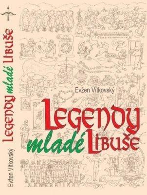 """Evžen Vítkovský: Legendy mladé Libuše. Pokud si chcete e-knihu vypůjčit, klikněte na název města, ve kterém se nachází vaše knihovna, v sekci """"Vyhledat e-knihu v knihovně""""."""