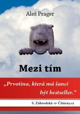 """Aleš Prager: Mezi tím. Pokud si chcete e-knihu vypůjčit, klikněte na název města, ve kterém se nachází vaše knihovna, v sekci """"Vyhledat e-knihu v knihovně""""."""