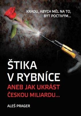 """Aleš Prager: Štika v rybníce. Pokud si chcete e-knihu vypůjčit, klikněte na název města, ve kterém se nachází vaše knihovna, v sekci """"Vyhledat e-knihu v knihovně""""."""