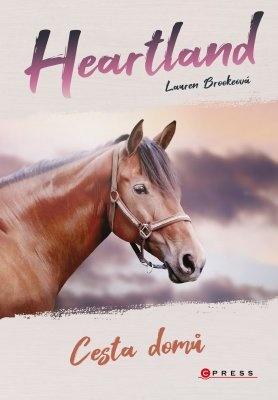 """Lauren Brookeová: Heartland: Cesta domů. Pokud si chcete e-knihu vypůjčit, klikněte na název města, ve kterém se nachází vaše knihovna, v sekci """"Vyhledat e-knihu v knihovně""""."""