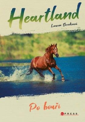 """Lauren Brookeová: Heartland: Po bouři. Pokud si chcete e-knihu vypůjčit, klikněte na název města, ve kterém se nachází vaše knihovna, v sekci """"Vyhledat e-knihu v knihovně""""."""