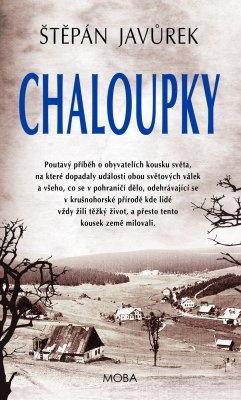 """Štěpán Javůrek: Chaloupky. Pokud si chcete e-knihu vypůjčit, klikněte na název města, ve kterém se nachází vaše knihovna, v sekci """"Vyhledat e-knihu v knihovně""""."""