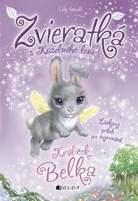 """Lily Small: Zvieratká z Kúzelného lesa – Králiček Belka. Pokud si chcete e-knihu vypůjčit, klikněte na název města, ve kterém se nachází vaše knihovna, v sekci """"Vyhledat e-knihu v knihovně""""."""