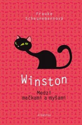 """Frauke Scheunemannová: Winston: Medzi mačkami a myšami. Pokud si chcete e-knihu vypůjčit, klikněte na název města, ve kterém se nachází vaše knihovna, v sekci """"Vyhledat e-knihu v knihovně""""."""
