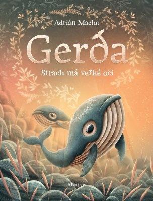 """Adrián Macho: Gerda: Strach má veľké oči. Pokud si chcete e-knihu vypůjčit, klikněte na název města, ve kterém se nachází vaše knihovna, v sekci """"Vyhledat e-knihu v knihovně""""."""