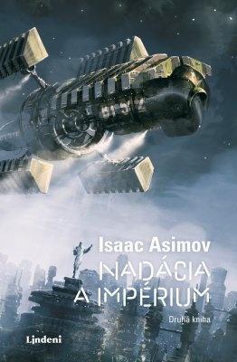 """Isaac Asimov: Nadácia a impérium - Nadácia 2. Pokud si chcete e-knihu vypůjčit, klikněte na název města, ve kterém se nachází vaše knihovna, v sekci """"Vyhledat e-knihu v knihovně""""."""