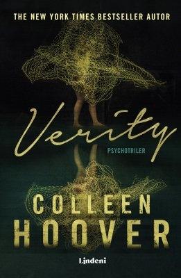 """Colleen Hoover: Verity. Pokud si chcete e-knihu vypůjčit, klikněte na název města, ve kterém se nachází vaše knihovna, v sekci """"Vyhledat e-knihu v knihovně""""."""