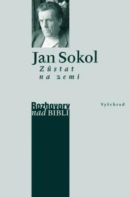 """Jan Sokol: Zůstat na zemi. Pokud si chcete e-knihu vypůjčit, klikněte na název města, ve kterém se nachází vaše knihovna, v sekci """"Vyhledat e-knihu v knihovně""""."""