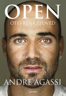 """Andre Agassi: Open. Pokud si chcete e-knihu vypůjčit, klikněte na název města, ve kterém se nachází vaše knihovna, v sekci """"Vyhledat e-knihu v knihovně""""."""