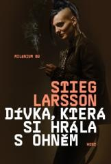 Stieg Larsson: Dívka, která si hrála s ohněm. Klikněte pro více informací.