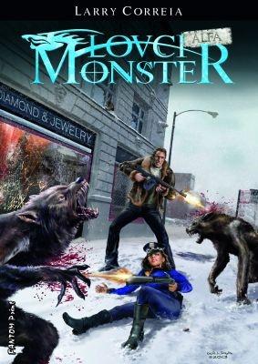 """Larry Correia: Lovci monster: Alfa. Pokud si chcete e-knihu vypůjčit, klikněte na název města, ve kterém se nachází vaše knihovna, v sekci """"Vyhledat e-knihu v knihovně""""."""