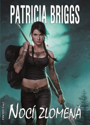 """Patricia Briggs: Nocí zlomená. Pokud si chcete e-knihu vypůjčit, klikněte na název města, ve kterém se nachází vaše knihovna, v sekci """"Vyhledat e-knihu v knihovně""""."""