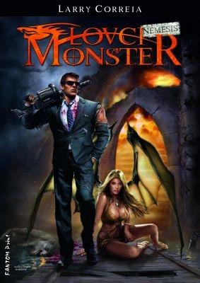 """Larry Correia: Lovci monster: Nemesis. Pokud si chcete e-knihu vypůjčit, klikněte na název města, ve kterém se nachází vaše knihovna, v sekci """"Vyhledat e-knihu v knihovně""""."""