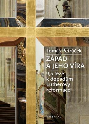 """Tomáš Peráček: Západ a jeho víra. Pokud si chcete e-knihu vypůjčit, klikněte na název města, ve kterém se nachází vaše knihovna, v sekci """"Vyhledat e-knihu v knihovně""""."""