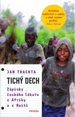 """Jan Trachta: Tichý dech. Pokud si chcete e-knihu vypůjčit, klikněte na název města, ve kterém se nachází vaše knihovna, v sekci """"Vyhledat e-knihu v knihovně""""."""