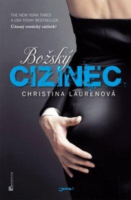 """Christina Laurenová: Božský cizinec. Pokud si chcete e-knihu vypůjčit, klikněte na název města, ve kterém se nachází vaše knihovna, v sekci """"Vyhledat e-knihu v knihovně""""."""