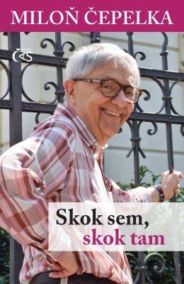 """Miloň Čepelka: Skok sem, skok tam. Pokud si chcete e-knihu vypůjčit, klikněte na název města, ve kterém se nachází vaše knihovna, v sekci """"Vyhledat e-knihu v knihovně""""."""