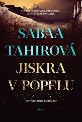 """Sabaa Tahirová: Jiskra v popelu. Pokud si chcete e-knihu vypůjčit, klikněte na název města, ve kterém se nachází vaše knihovna, v sekci """"Vyhledat e-knihu v knihovně""""."""