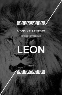"""Markus Lutteman, Mons Kallentoft: Leon. Pokud si chcete e-knihu vypůjčit, klikněte na název města, ve kterém se nachází vaše knihovna, v sekci """"Vyhledat e-knihu v knihovně""""."""