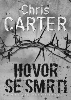 """Chris Carter: Hovor se smrtí. Pokud si chcete e-knihu vypůjčit, klikněte na název města, ve kterém se nachází vaše knihovna, v sekci """"Vyhledat e-knihu v knihovně""""."""