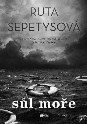 """Ruta Sepetysová: Sůl moře. Pokud si chcete e-knihu vypůjčit, klikněte na název města, ve kterém se nachází vaše knihovna, v sekci """"Vyhledat e-knihu v knihovně""""."""