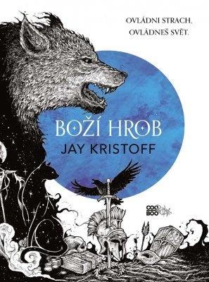 """Jay Kristoff: Boží hrob. Pokud si chcete e-knihu vypůjčit, klikněte na název města, ve kterém se nachází vaše knihovna, v sekci """"Vyhledat e-knihu v knihovně""""."""