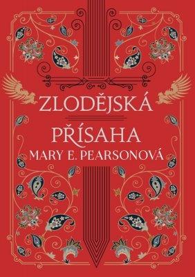 """Mary E. Pearsonová: Zlodějská přísaha. Pokud si chcete e-knihu vypůjčit, klikněte na název města, ve kterém se nachází vaše knihovna, v sekci """"Vyhledat e-knihu v knihovně""""."""