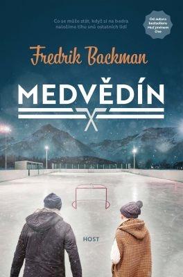 """Fredrik Backman: Medvědín. Pokud si chcete e-knihu vypůjčit, klikněte na název města, ve kterém se nachází vaše knihovna, v sekci """"Vyhledat e-knihu v knihovně""""."""