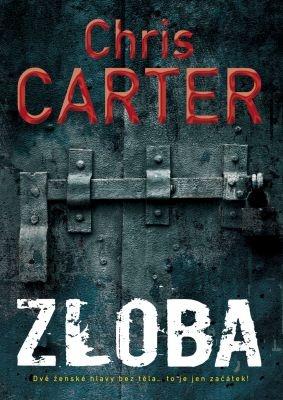 """Chris Carter: Zloba. Pokud si chcete e-knihu vypůjčit, klikněte na název města, ve kterém se nachází vaše knihovna, v sekci """"Vyhledat e-knihu v knihovně""""."""