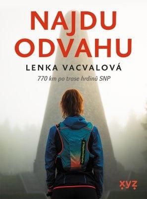 """Lenka Vacvalová: Najdu odvahu. Pokud si chcete e-knihu vypůjčit, klikněte na název města, ve kterém se nachází vaše knihovna, v sekci """"Vyhledat e-knihu v knihovně""""."""