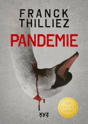 """Franck Thilliez: Pandemie. Pokud si chcete e-knihu vypůjčit, klikněte na název města, ve kterém se nachází vaše knihovna, v sekci """"Vyhledat e-knihu v knihovně""""."""