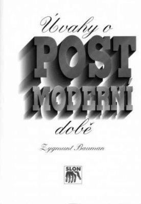 """Zygmunt Bauman: Úvahy o postmoderní době. Pokud si chcete e-knihu vypůjčit, klikněte na název města, ve kterém se nachází vaše knihovna, v sekci """"Vyhledat e-knihu v knihovně""""."""
