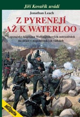 """Jonatha Leach: Z Pyrenejí až k Waterloo. Pokud si chcete e-knihu vypůjčit, klikněte na název města, ve kterém se nachází vaše knihovna, v sekci """"Vyhledat e-knihu v knihovně""""."""