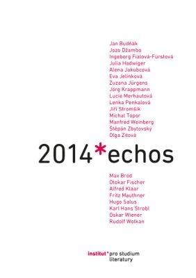 """Eva Jelínková (ed.): Echos 2014. Pokud si chcete e-knihu vypůjčit, klikněte na název města, ve kterém se nachází vaše knihovna, v sekci """"Vyhledat e-knihu v knihovně""""."""