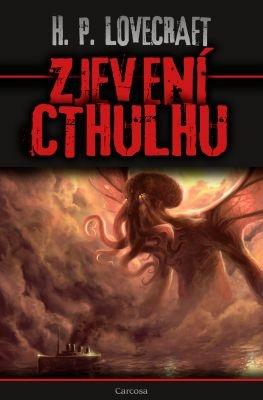 """Howard P. Lovecraft: Zjevení Cthulhu. Pokud si chcete e-knihu vypůjčit, klikněte na název města, ve kterém se nachází vaše knihovna, v sekci """"Vyhledat e-knihu v knihovně""""."""