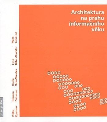 """Jana Tichá: Architektura na prahu informačního věku. Pokud si chcete e-knihu vypůjčit, klikněte na název města, ve kterém se nachází vaše knihovna, v sekci """"Vyhledat e-knihu v knihovně""""."""