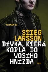 Stieg Larsson: Dívka, která kopla do vosího hnízda. Klikněte pro více informací.