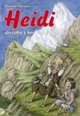 Johanna Spyriová: Heidi, děvčátko z hor. Klikněte pro více informací.