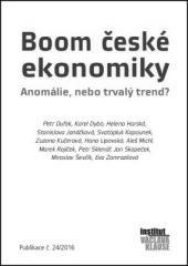 kolektiv autorů IVK: Boom české ekonomiky: Anomálie, nebo trvalý trend?. Klikněte pro více informací.