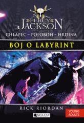 Rick Riordan: Percy Jackson 4 – Boj o labyrint. Klikněte pro více informací.