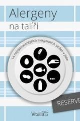 kolektiv autorů Vitalia.cz: Alergeny na talíři: 14 nejvýznamnějších alergenních složek v jídle. Klikněte pro více informací.